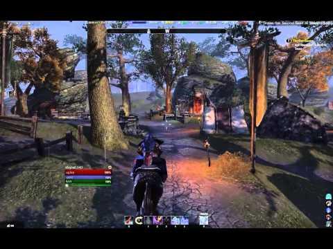 TESO Horse riding glitch