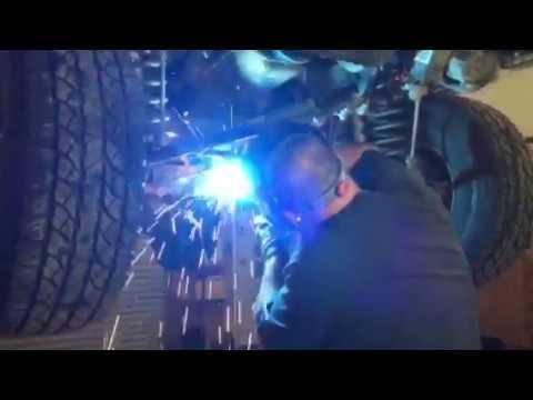 Jeep TJ upper control arm repair