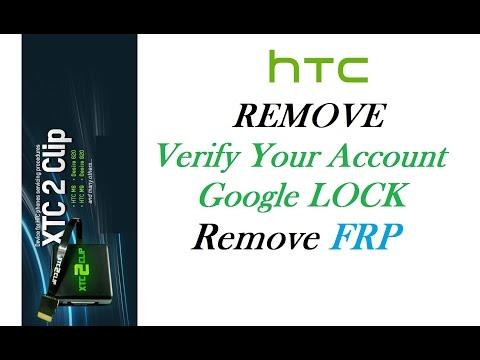 XTC2Clip - Remove FRP Google Account verification on HTC Lollipop 5.1