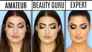 4 Levels Of Makeup: Amateur to Professional Makeup Artist