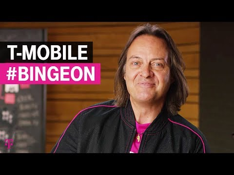 T-Mobile CEO with ANOTHER #BingeOn expansion! Now 100+ providers!!