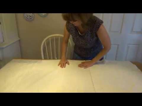 spray basting a quilt with 505 spray