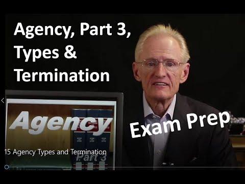 15 Agency Types: Arizona Real Estate License Exam Prep