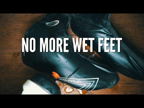 How to make your overshoes waterproof, NO MORE WET FEET DURING CYCLING!