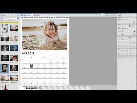 Create a Momento Wall Calendar