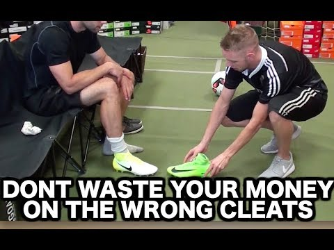 How to buy the best soccer shoes for YOU   Buying football boots soccer cleats indoor soccer shoes