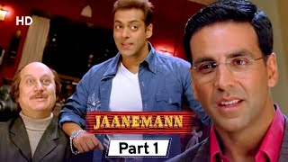 Jaan-E-Mann - Superhit Bollywood Comedy Movie - Part 1 - Akshay Kumar - Salman Khan - Preity Zinta