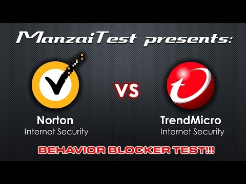 [Behavior Blocker Test] Norton Security 2015 VS Trend Micro Titanium Internet Security 2015
