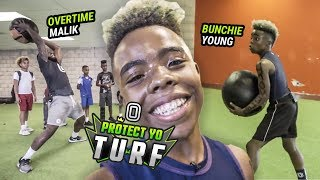 "12 Year Old Bunchie Young Goes Through INSANE WORKOUT! ""That"