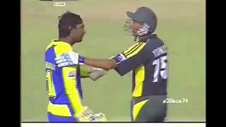 Sangakkara vs Younis khan . what has actually happened ??