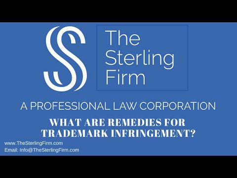 WHAT ARE REMEDIES FOR TRADEMARK INFRINGEMENT?