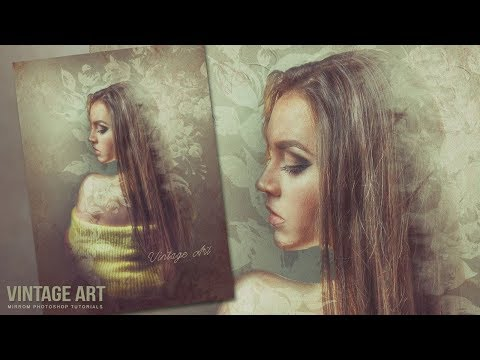 Create a Vintage Artwork in Photoshop CC