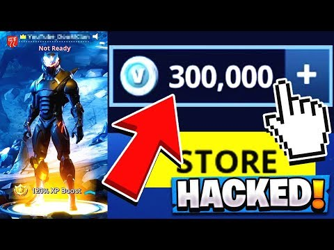Hacking The RICHEST Fortnite Account! | 300,000 VBUCKS!