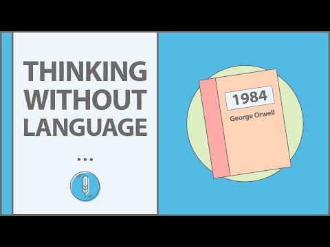 """can we think without language You can't think about thinking without thinking about thinking about  something  draw a circle by the instructions """"forward a tiny bit (in calculus  language fd."""