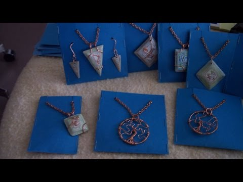 How To Make Simple Jewelry Display Cards - DIY Style Tutorial - Guidecentral