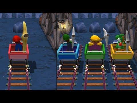 Mario Party 7 - All 1-vs-3 Minigames