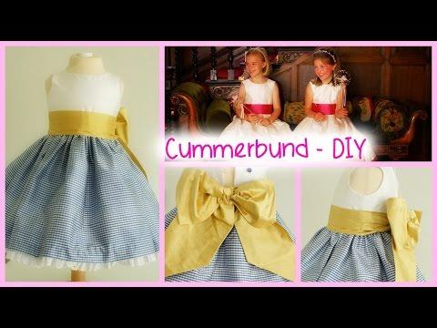 How to sew a Sash / Kummerbund