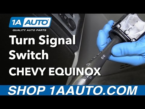 How to Install Replace Turn Signal and Headlight Switch Lever 2007-09 Chevy Equinox