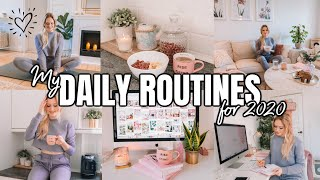 MY DAILY ROUTINES FOR 2020! ♡