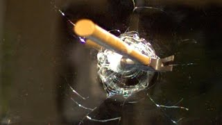 Hammer through Mirror at 120,000fps - The Slow Mo Guys