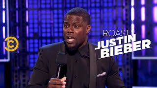 Roast of Justin Bieber - Kevin Hart - Peeing on Camera - Uncensored