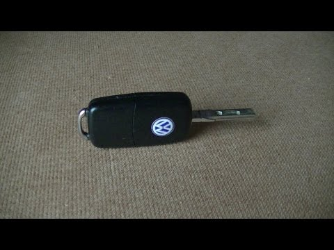 VW Remote Key Battery Replacement Quick & Easy