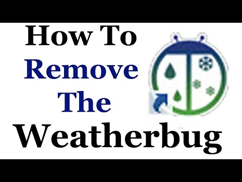 How To Completely Remove The Weatherbug Unwanted App