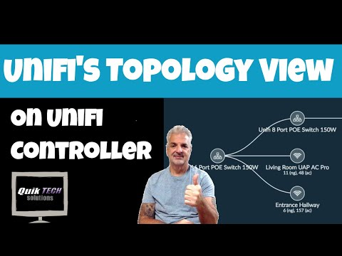 Unifi's Topology View