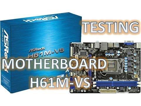 Motherboard ASRock H61M-VS Intel Processor Core i3 2100 3.10Ghz Sandy Bridge Windows 10 anniversary
