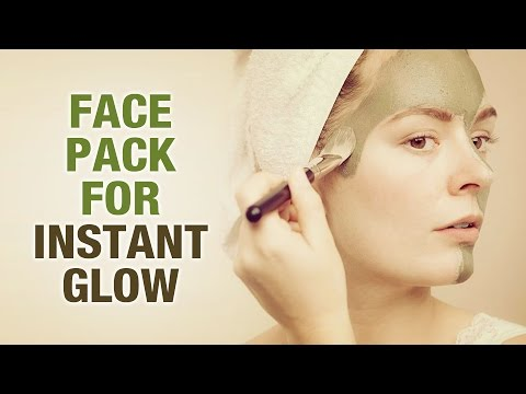 Homemade Face Pack for Instant Glow - Riya Singh - Beauty Tips