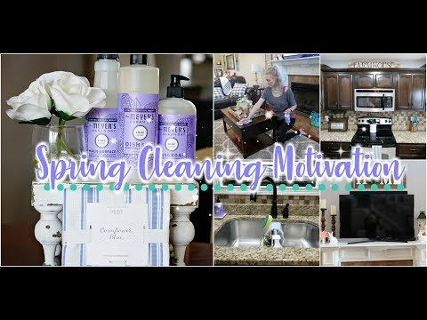 Spring Cleaning Motivation/Clean With Me/Daily Cleaning Routine