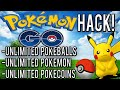 Pokemon Go Cheats! Unlimited Pokeballs, Unlimited Pokemon, Unlimited Eggs!