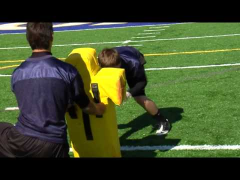 Youth Football Offensive Line Blocking Drills