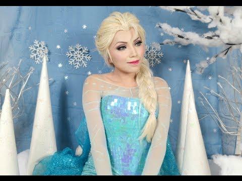 Disney's Frozen Elsa Makeup Tutorial