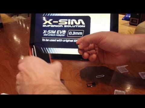 X-SIM EVO installation manual