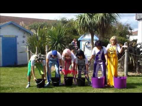 Skyline Gang ALS Ice Bucket Challenge Butlins Bognor Regis 21st August 2014