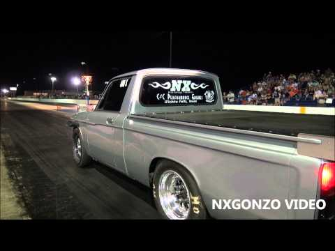Nitrous powered Luv pulling the wheels up!