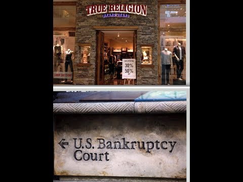 True Religion Files Bankruptcy + Ebay Users Photos Removed