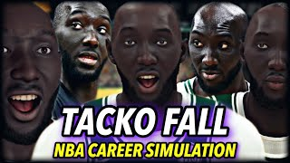 "TACKO FALL'S NBA CAREER SIMULATION | FROM G-LEAGUE TO 7'5"" NBA LEGEND? 