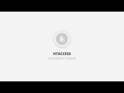 Htaccess WordPress Plugin - Installation Tutorial