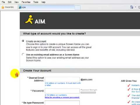 How to download AIM 7 0 for free and change your screen name part 2 out of 2