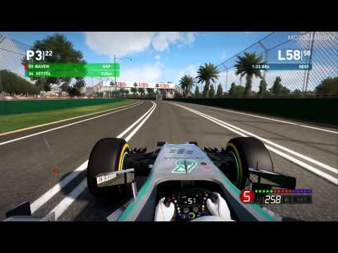 F1 2014 Xbox 360 - Very Easy - Australia Scenario
