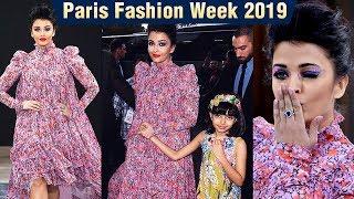 Aishwarya Rai Rampwalk Like A QUEEN With Aaradhya | Paris Fashion Week 2019