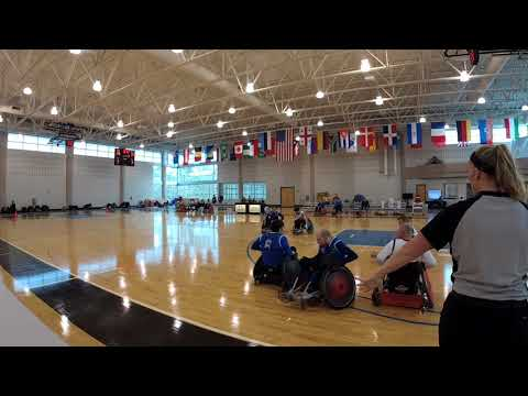 Detroit Wheelchair Rugby Club  versus St. Louis Period 3 (2018 03 18)