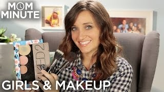 When should you start wearing makeup? - Mom Minute with Mindy of CuteGirlsHairstyles