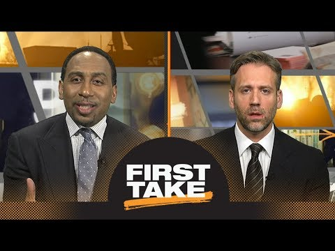 Stephen A. Smith and Max Kellerman argue over Lonzo Ball's impact | First Take | ESPN