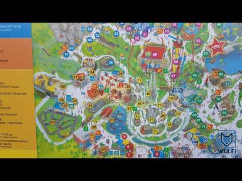 Legoland Germany park map