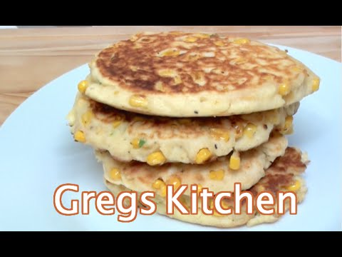 CORN FRITTERS RECIPE - Greg's Kitchen