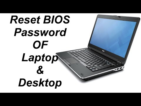 Resetting Bios Password Dell Latitude Laptop