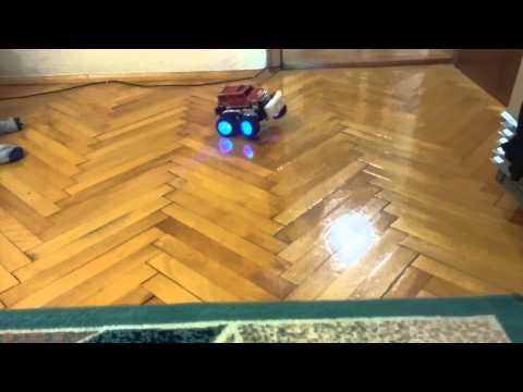 Toy with adapted laptop battery (Monster Truck)
